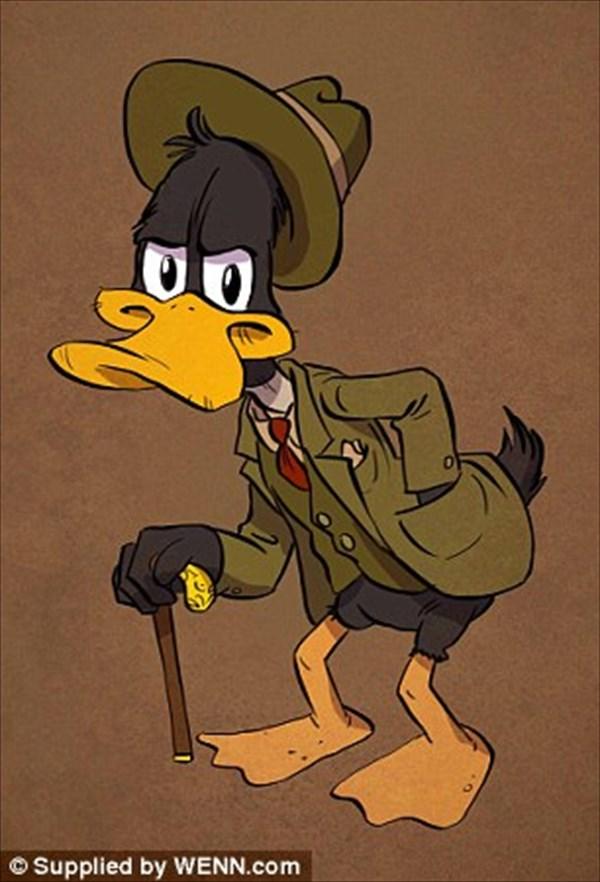 こんなミッキーは嫌だ! アンドリュー・タルソフによる年をとったアニメキャラ