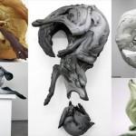 べス・ケベネーによるアーティスティックな粘土彫刻!!