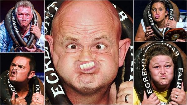 日本よ、これが世界レベルの変顔だ! 750年の歴史をもつ世界変顔選手権開催
