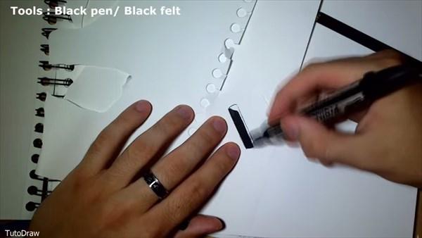 これが絵!? わりと簡単に描けちゃうヨルダン・モリーナの3Dペイント講座!