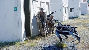 Googleのロボドッグ『スポット(Spot)』 海兵隊基地でテスト中!!
