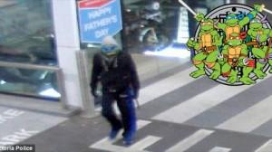 あの「ミュータントタートルズ」のレオナルドがバイクを盗んで指名手配?