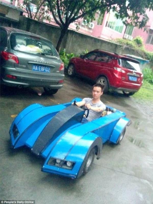 中国の学生が遅刻防止のため自力で電気自動車を作る!製作費はたった6万5千円