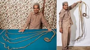 世界最長の爪を持つ男! 62年間も爪を伸ばし続けたインド人 ギネスも認定!
