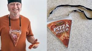 ピザ好き必見!常にピザを携帯できる「ポータブル・ピザ・ポーチ」!