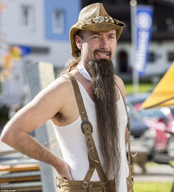 オーストラリアで開催された世界ヒゲ選手権の出場者が、もはや異次元レベル!