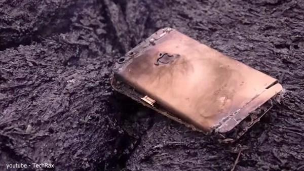 iPhone6s耐久テスト! iPhoneはマグマの高温に耐えられるか実験