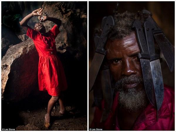 25年にわたりハイチのブードゥー教を取材したカメラマンによる写真