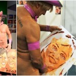 芸術だからセーフ! 自らのアソコで似顔絵を描いてくれる芸術家プリカッソ