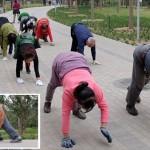 ジョギングなんてもう古い!中国の新たな健康のトレンドは「四足ウォーキング」