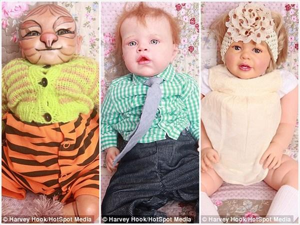 超リアルな赤ちゃんの人形27体の世話をする、ちょっとヤバめなおばあちゃん