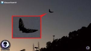 これは本物か!? 奇妙な形状のUFOがアメリカで撮影される!