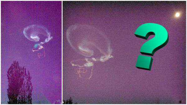 中国でクエスチョンマークの奇妙な雲が出現! 宇宙人説を主張する人まで!
