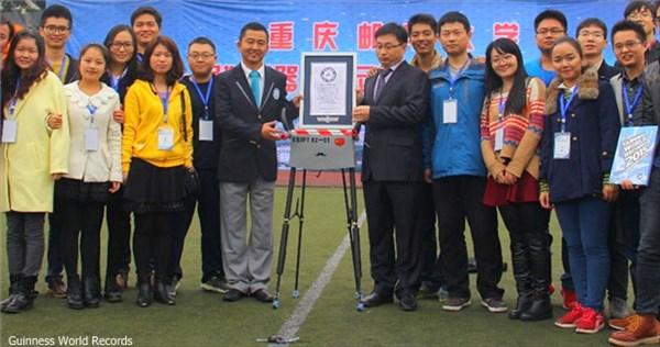 見た目はアレだがすごい奴! 中国の四足ロボットが134キロ歩行しギネス記録