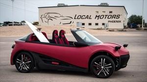 3Dプリンターもここまで来た! 世界初の3Dプリント自動車が来年販売開始!