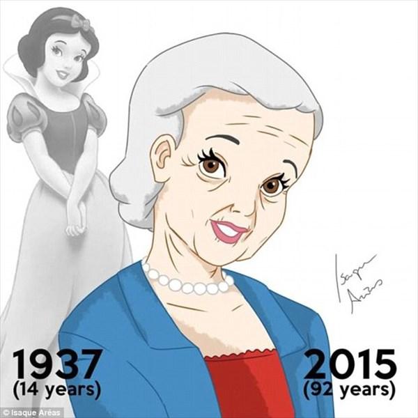 白雪姫は現在92歳の高齢者! もしも、ディズニープリンセスが年をとったら