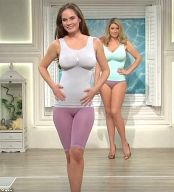 セクシーすぎ! 通販番組に登場したシェイプアップ下着のモデルが話題に!