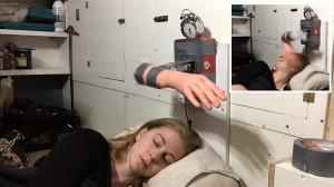 ビンタで目覚める朝! スウェーデンの女性発明家が製作した「ビンタ目覚まし」