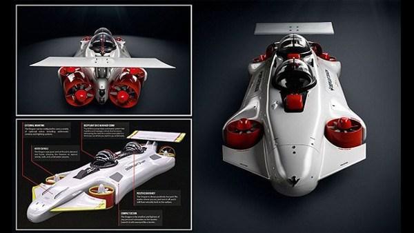 個人で購入可能な潜水艦「ディープ・フライト(DeepFlight)」販売!