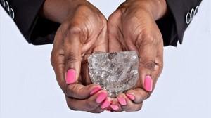 史上2番目の大きさ! ボツワナで1111カラットのダイヤモンド見つかる!