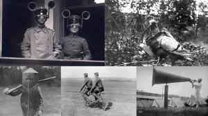 第一次世界大戦時代に各国が発明した風変わりな発明品! 13選!