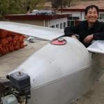 中卒の中国人男性 本とネットの知識のみで自力で飛行機をつくる!