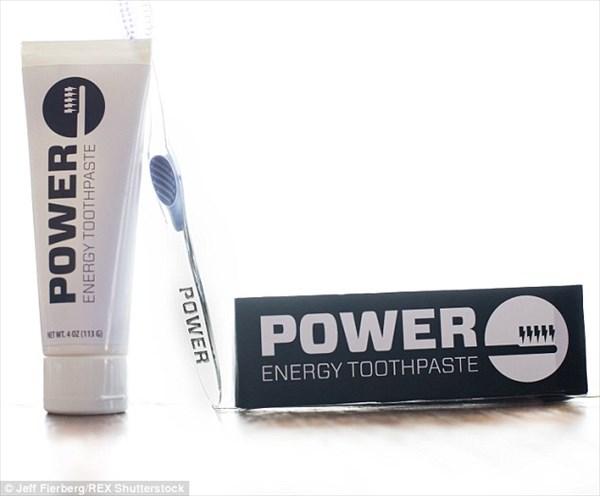 世界初のカフェイン入り歯磨き粉「パワー・エナジー・トゥースペースト」誕生!