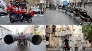過去10年間に目撃された中国の危険運転&過積載を中国メディアが発表