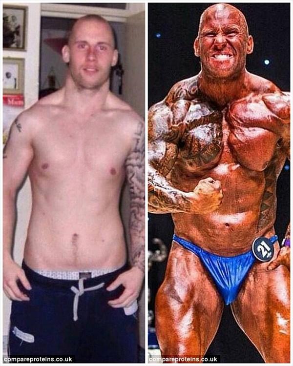 わずか4ヶ月! 1日40個の卵とトレーニングで別人のように肉体改造した男!