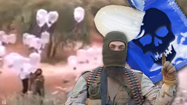 コンドーム爆弾でロシアに対抗? イスラム国が爆弾付きのコンドームを飛ばす!