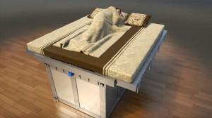 地震大国日本にはうってつけ? 揺れを感知して地震から身を守ってくれるベッド