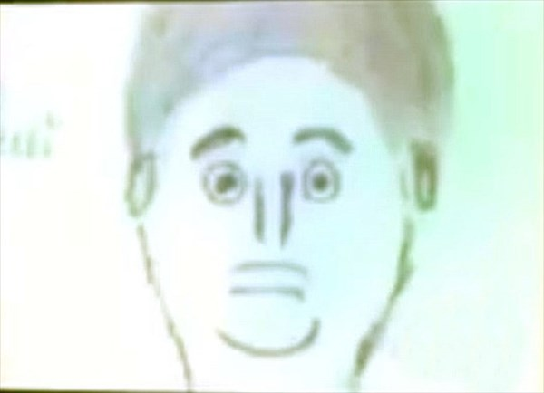 史上最悪の犯人似顔絵? しかし、まさかの容疑者逮捕へ