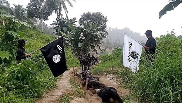 イスラム国がフィリピンに新拠点を設立? フィリピンで訓練をする兵士映像公開