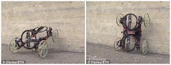 ディズニーとスイス連邦工科大学がロボットを開発 壁を走行するVertiGo