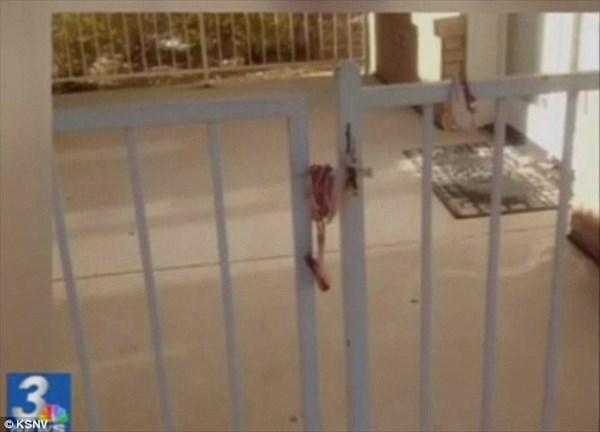イスラム教のモスク入り口に生のベーコンを巻きつける!謎のベーコン男が出現!