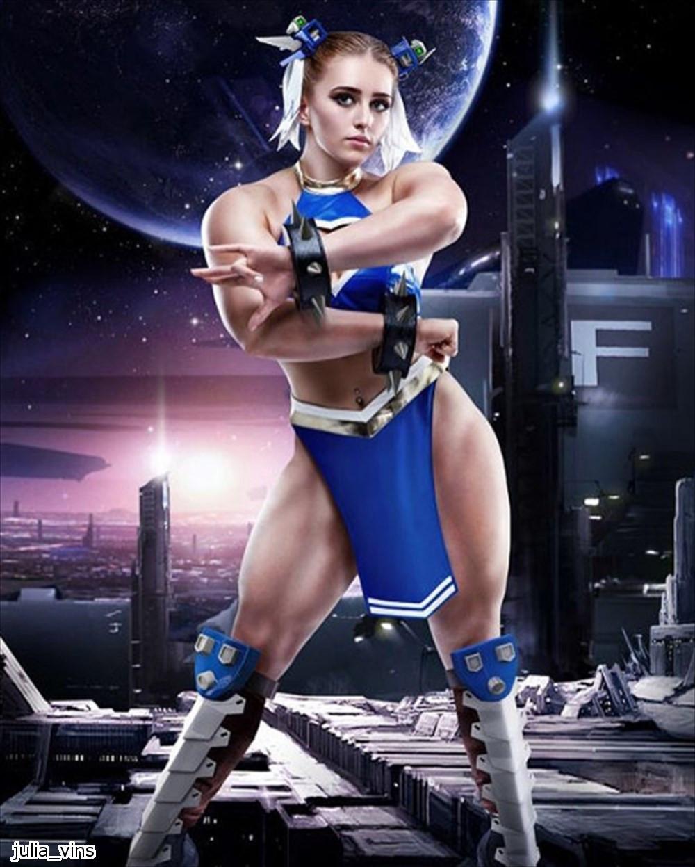 極寒の地が生んだ筋肉バービー! ジュリア・ビンスに屈強なロシア男子もビビる