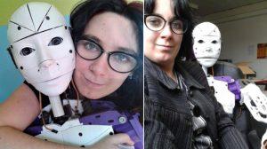 【19歳のころに性的な意味で恋をした】3Dプリンター製ロボットと暮らす女性