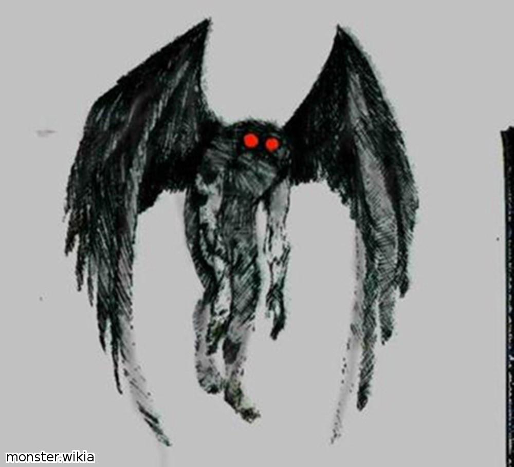 蛾人間モスマンか!? アリゾナ州で巨大な翼を持つ未確認生物が撮影される