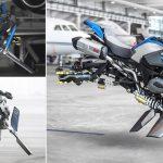 未来のバイクは宙に浮く? BMWが制作したコンセプトバイク「ホバーライド」