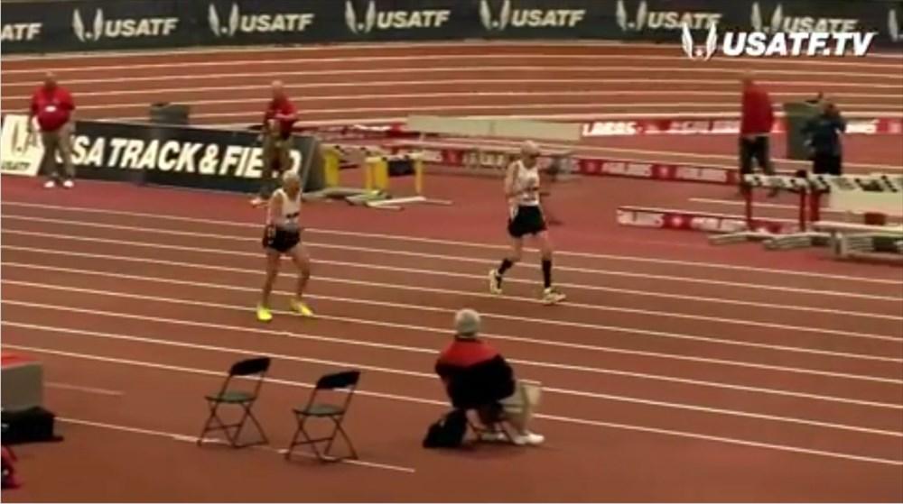 若いもんに負けん! 92歳と99歳がマスターズ60m走で見せたデッドヒート