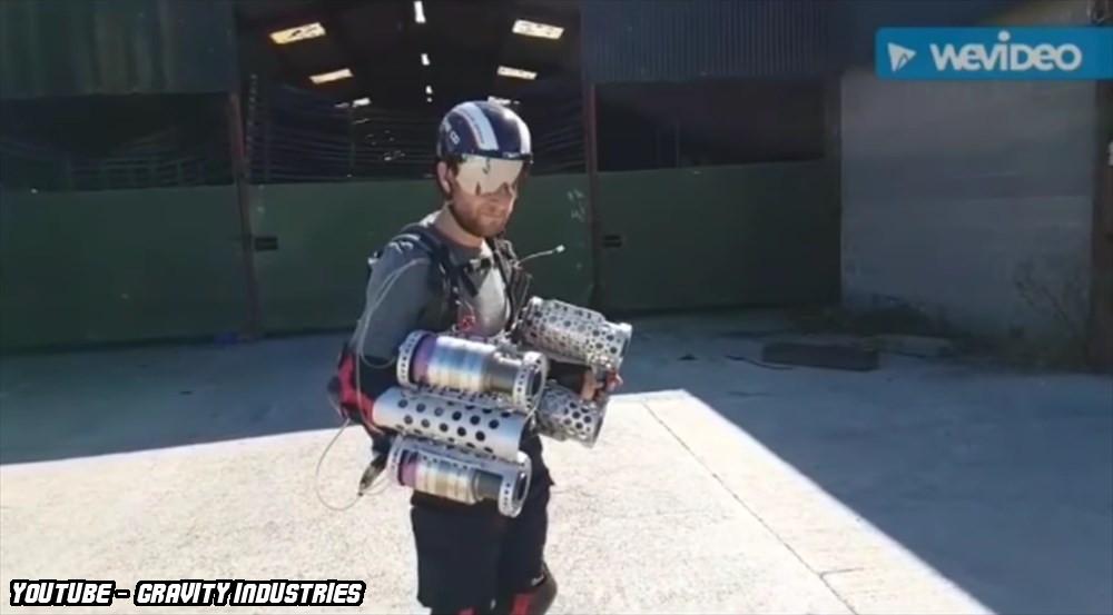 アイアンマンスーツが現実に!? イギリスで開発中のスーツ「ダイダロス」