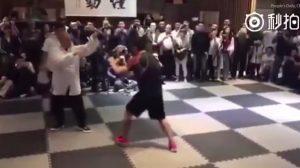 太極拳の凄さを証明する! 格闘家に戦いを挑んだ太極拳の使い手、10秒で敗北